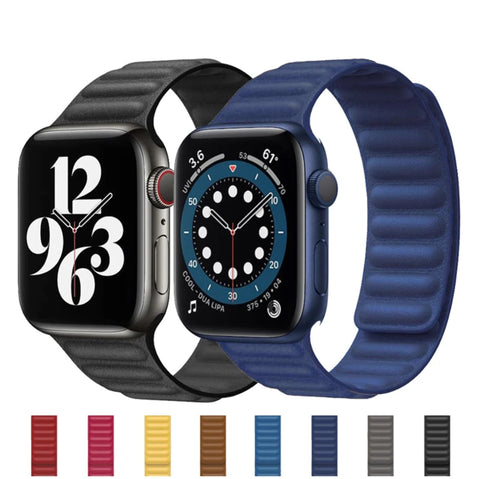 Leather Magnetic Band Apple Watch