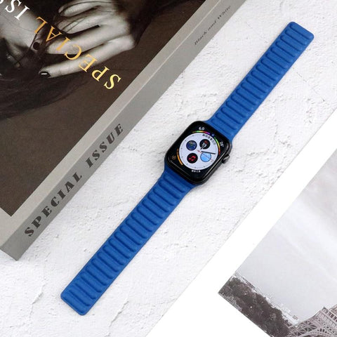 Leather Band Apple Blue