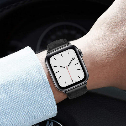 Leather Band Apple Watch