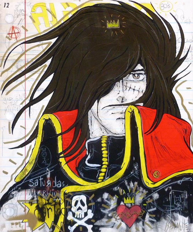 Saturday Morning Cartoons Albator (Harlock)