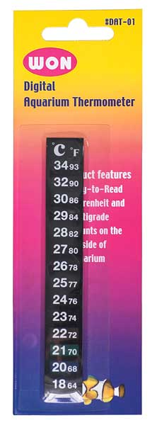 LCD Aquarium Thermometer