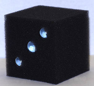 Internal-weight 30ppi sponge filter