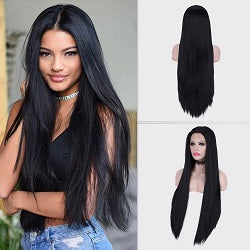 synthetic wigs for black hair