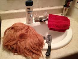 how to wash synthetic wigs