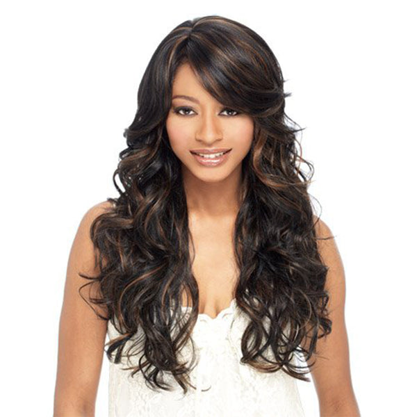 Deep Wave Style Synthetic Wig Women's Right Side Parting Wig 26 inch