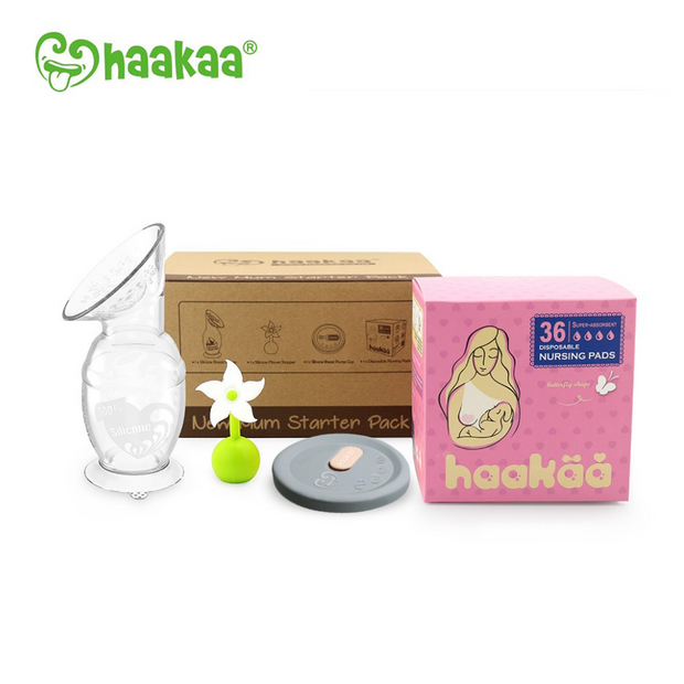 Haakaa Breast Pump New Mum Starter Kit
