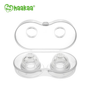 Haakaa Silicone Inverted Nipple Corrector - 2 pack