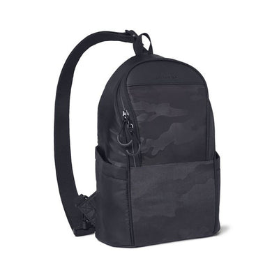 Skip Hop Paxwell Easy-Access Diaper Sling Bag (Black Camo)
