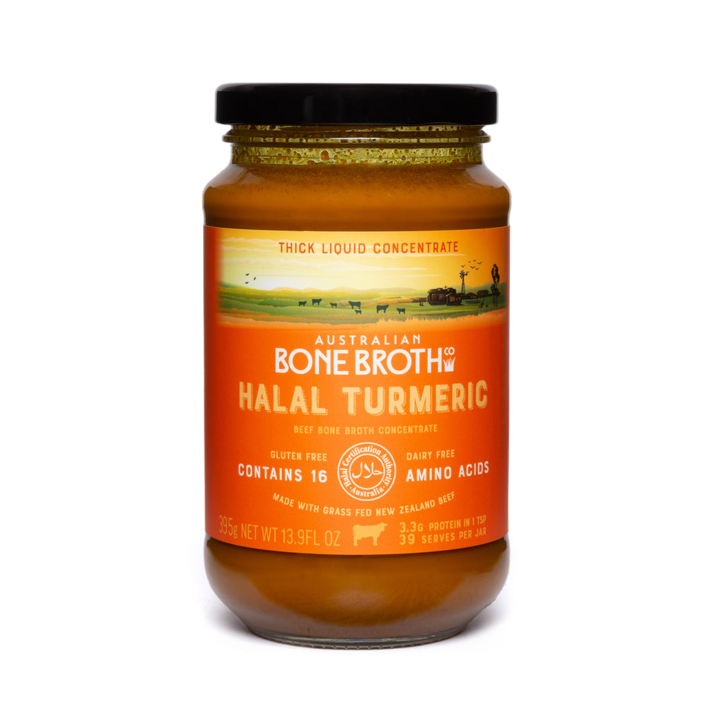 Halal Turmeric Bone Broth Concentrate - 395 gram