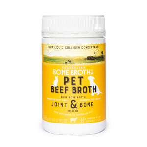 Pet Bone Broth Concentrate - Natural Beef Broth