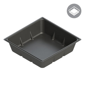 100 Gallon Reservoir, Black, Square - Oklahoma Growers Supply