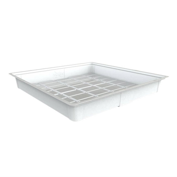 4'x4' Flood Tray - White (Heavy Duty) - Oklahoma Growers Supply