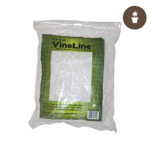 5' x 15' (WHITE) VineLine Plastic Garden Netting - Oklahoma Growers Supply
