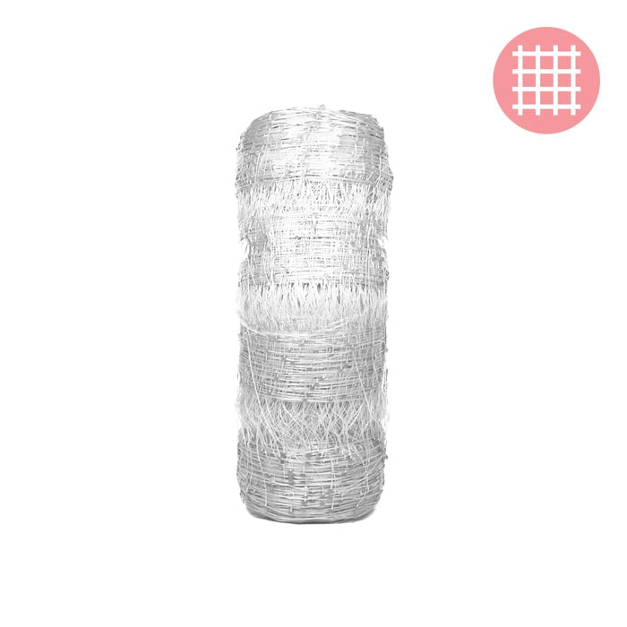 6' x 330' (WHITE) VineLine Plastic Garden Netting Roll - Oklahoma Growers Supply