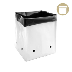 2 Gal. B&W PE Grow Bag (50 Per Pack) - Oklahoma Growers Supply