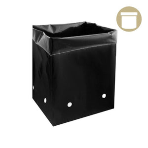 10 Gal. Black PE Grow Bag (25 Per Pack) - Oklahoma Growers Supply