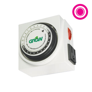 120V Dual Outlet Mechanical Timer - Oklahoma Growers Supply
