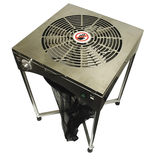 18'' TableTop Stand Motor Driven Trimmer  - Stainless - Oklahoma Growers Supply