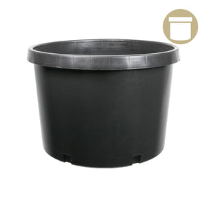 10 Gal. Squat Injection Molded Pot - Oklahoma Growers Supply