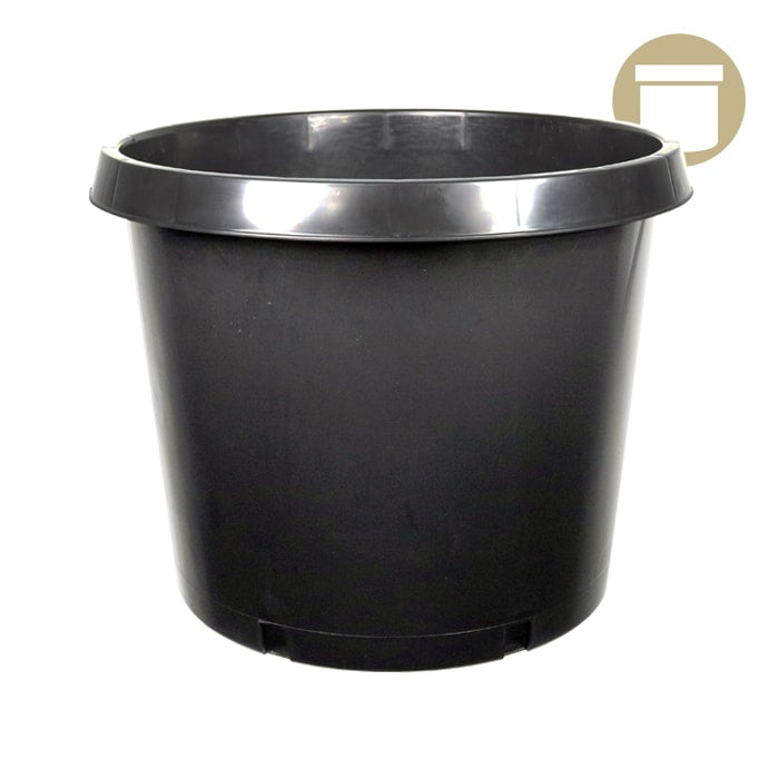 15 Gal. Squat Injection Molded Pot - Oklahoma Growers Supply