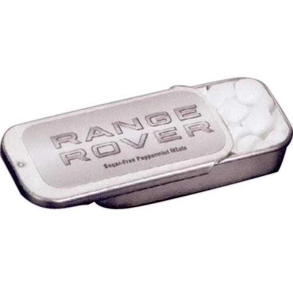 Rectangular Slider Mint Tin