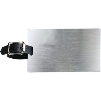 Aluminum Kwik Seal Backing Luggage Bag Tag