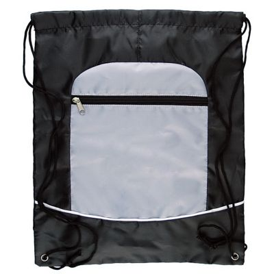 Two Tone Sportsbag with Drawstring