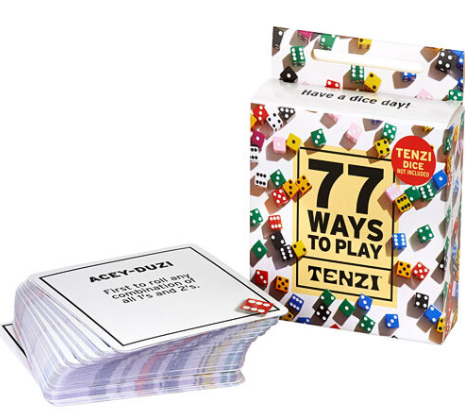 Tenzi Card Pack - 77 Ways to Play! Image