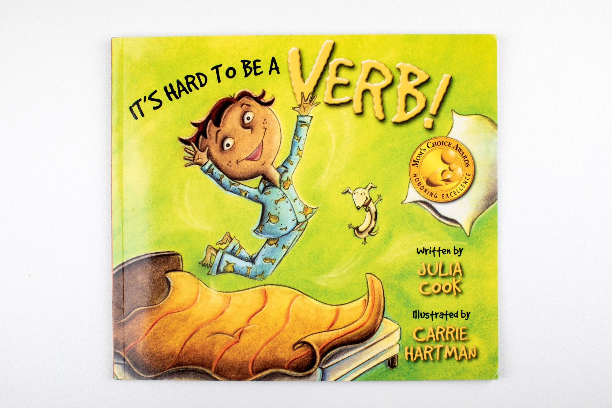 Book Julia Cook - It's Hard to be a Verb Image