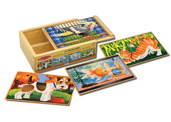 PETS PUZZLES IN A BOX Image