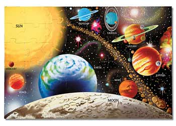 SOLAR SYSTEM PUZZLE Image