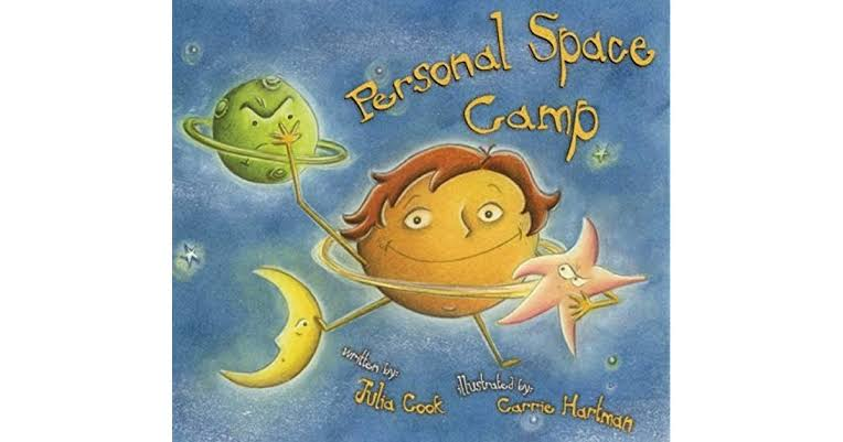 Book Julia Cook - Personal Space Camp Image
