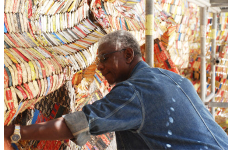 image of el anatsui lesson plan introduction
