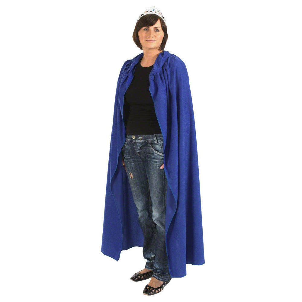 Image of Blue adult unisex cloak fancy dress costume |Charlie Crow