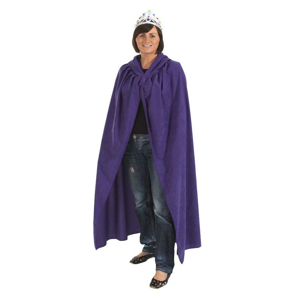 Image of Purple adult cloak fancy dress costume |Charlie Crow