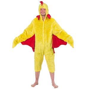 Image of Chicken adult fancy dress costume | Charlie Crow