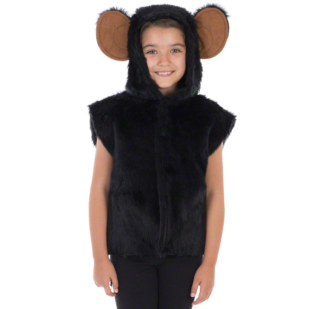 image of Black Monkey | Chimp costume for kids | Charlie Crow
