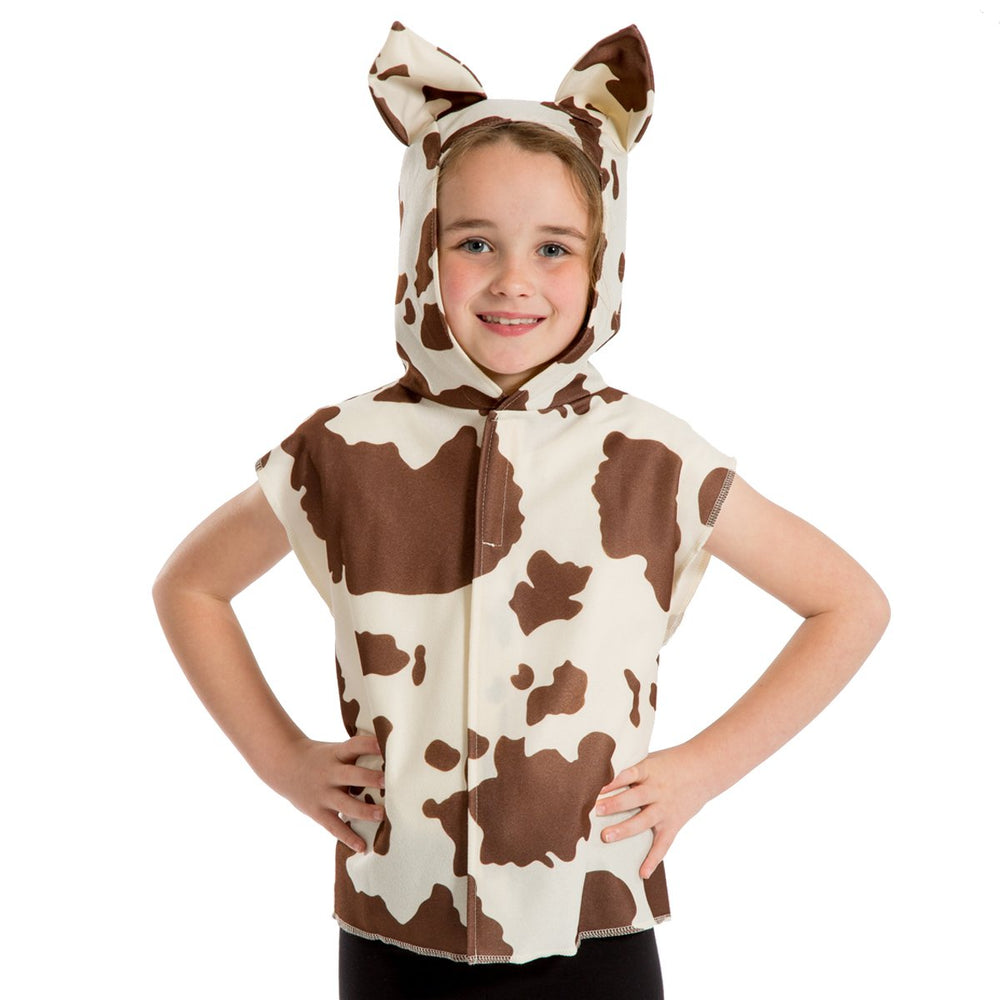 Image of Brown Cow costume for kids | Charlie Crow