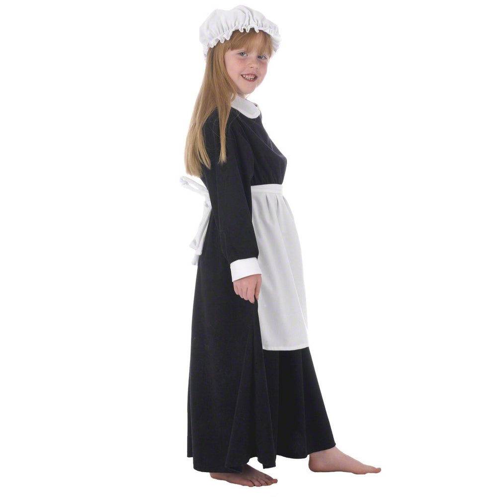 Image of Elsie parlour maid costume for girls | Charlie Crow