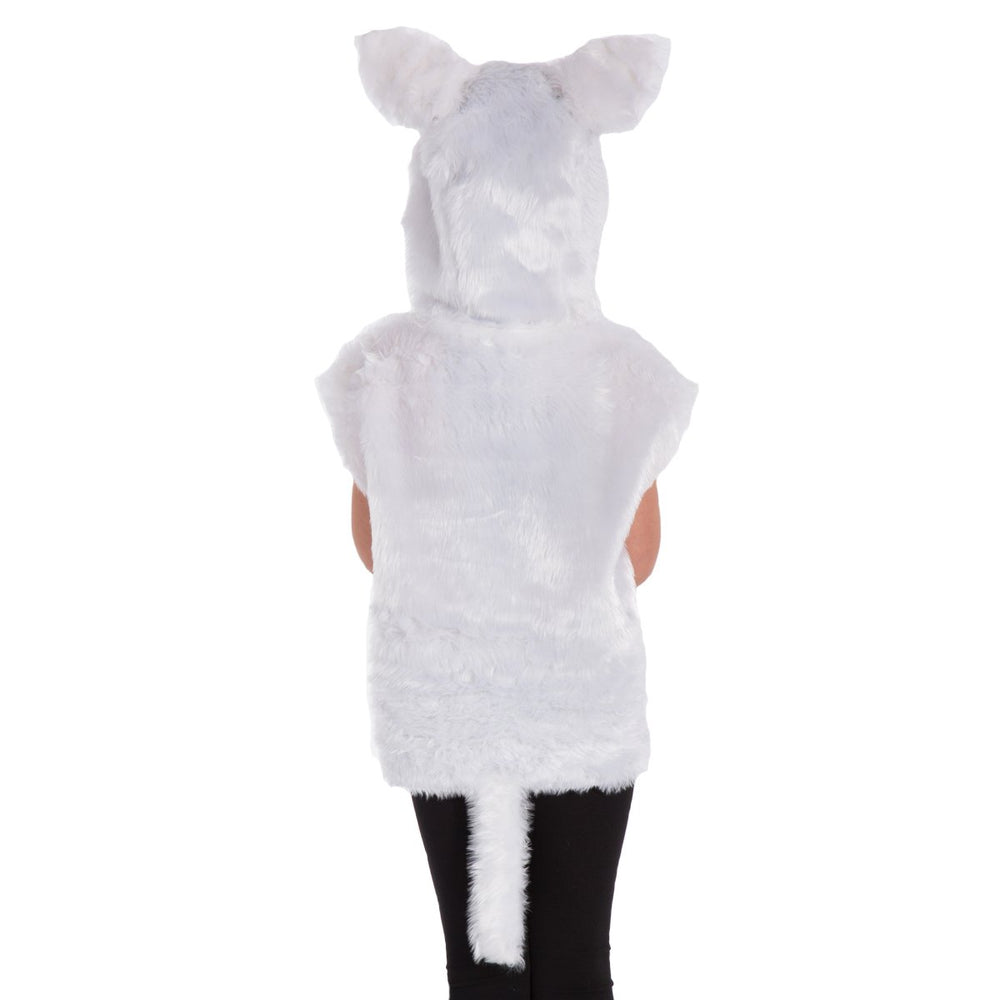 Image of White Cat | Kitten costume for kids | Charlie Crow