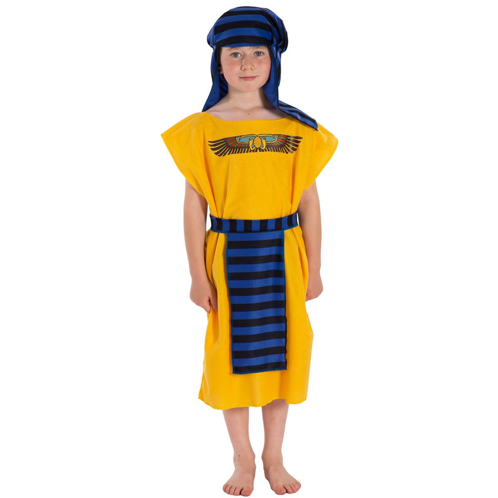 Image of Yellow Egyptian costume for kids | Charlie Crow