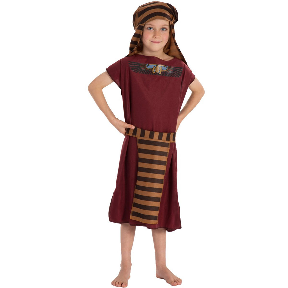 Image of Burgundy Egyptian costume for kids | Charlie Crow