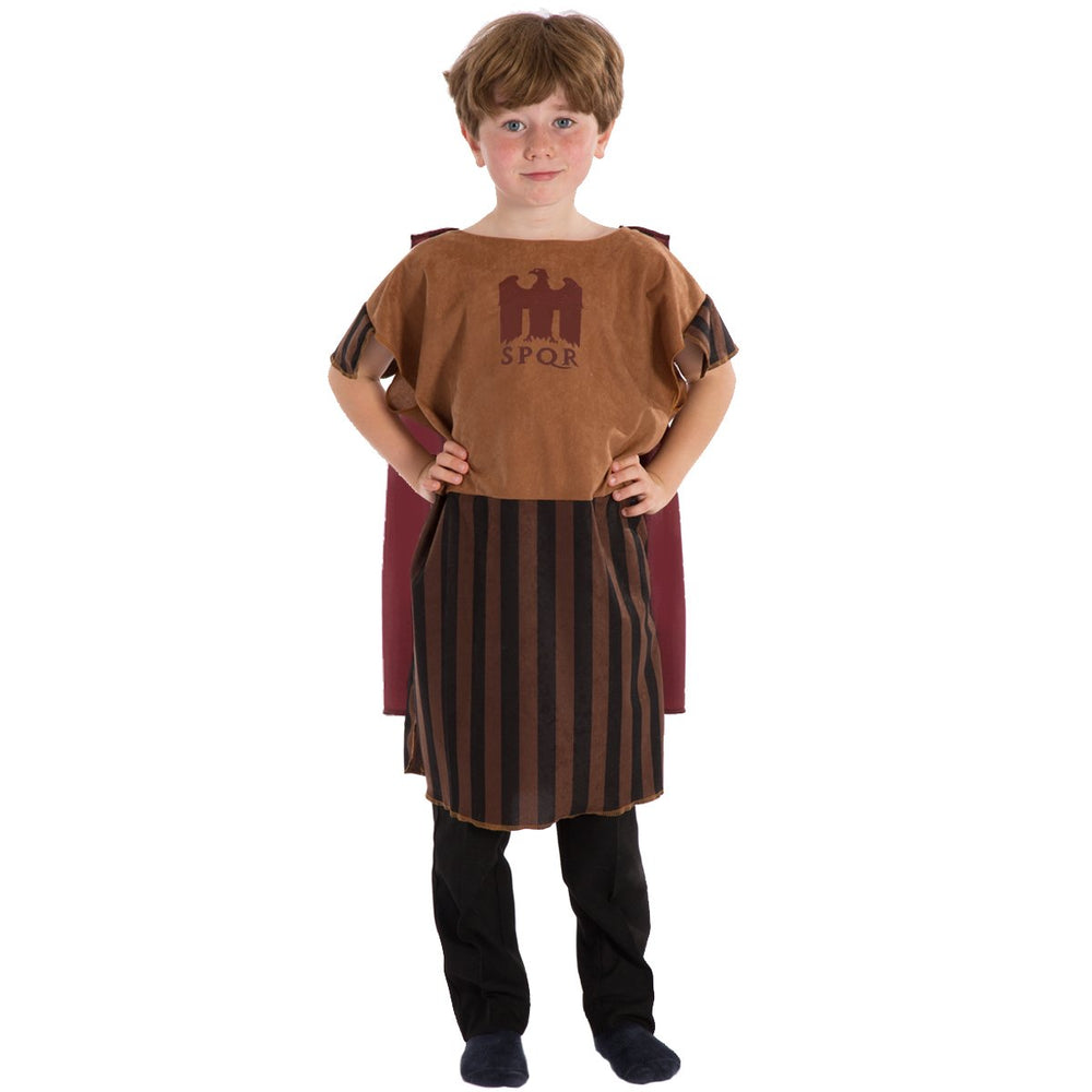 Image of Brown Gladiator costume for kids | Charlie Crow