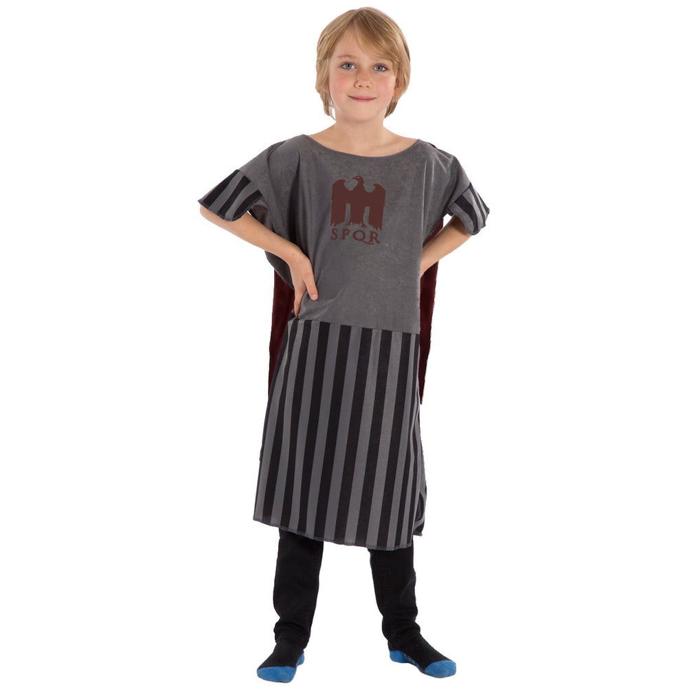 Image of Grey Gladiator costume for kids | Charlie Crow