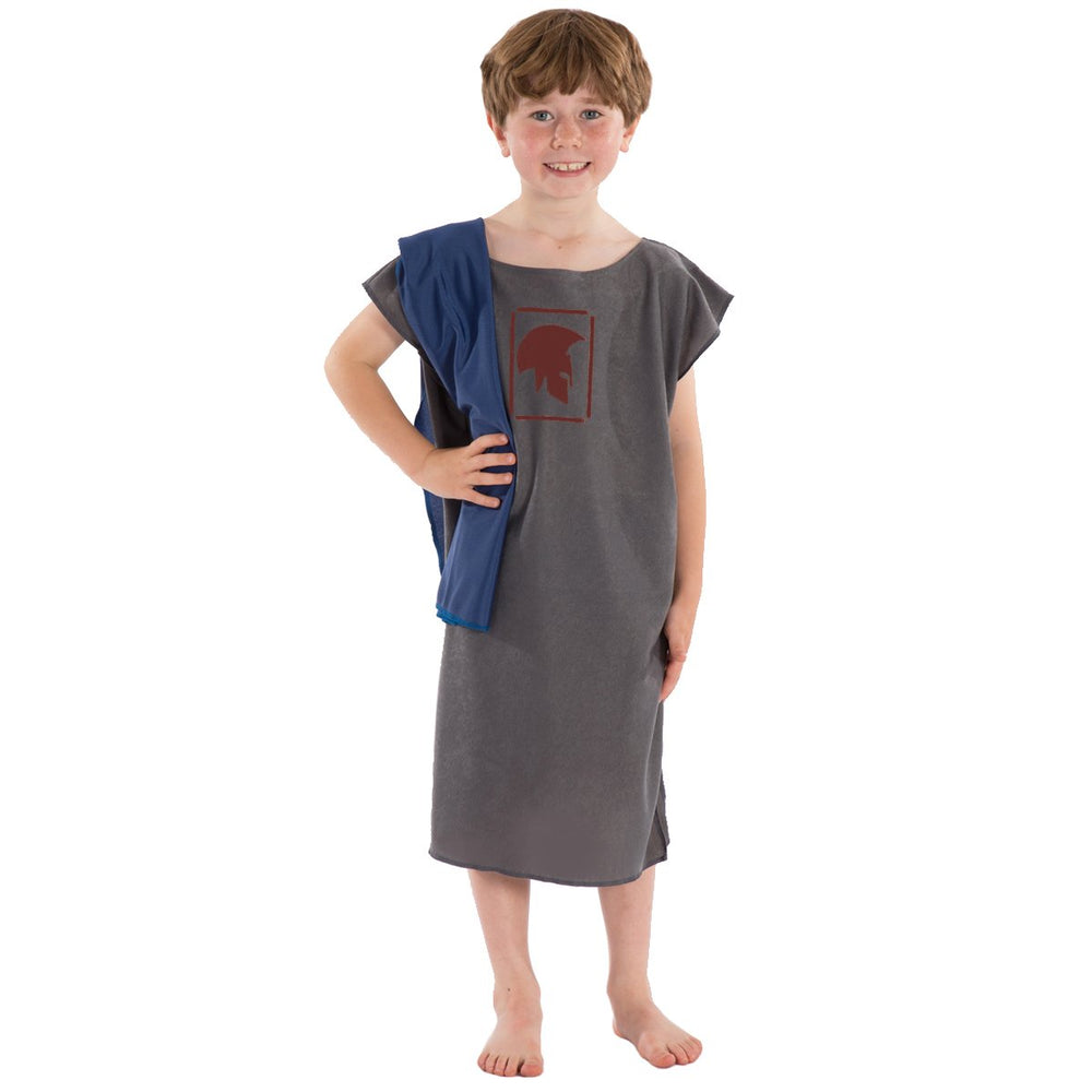 Image of Grey Roman | Greek costume for kids | Charlie Crow