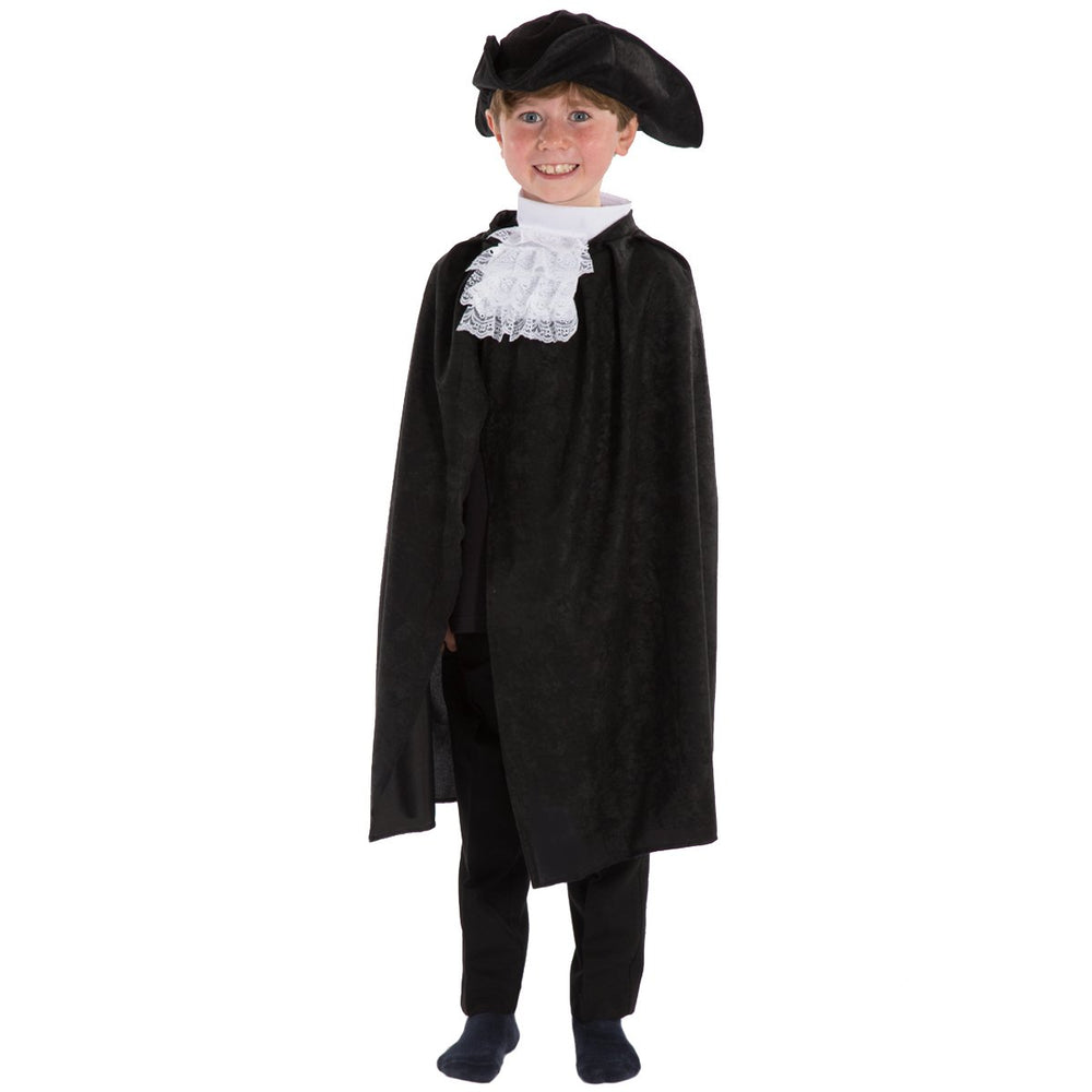 Image of Kids Highwayman Tricorn Cape Cravat set | Charlie Crow