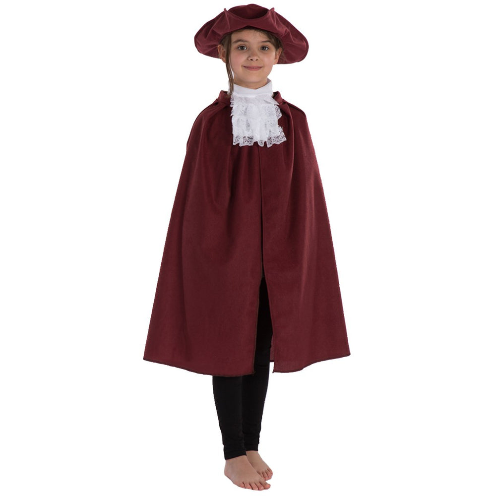 Image of Kids pirate Tricorn hat Cape Cravat set | Charlie Crow