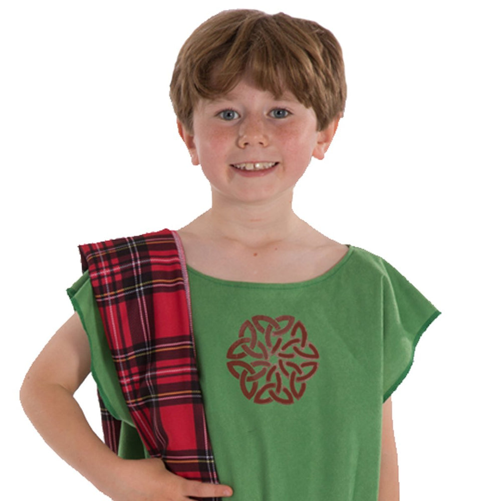 Green Celt costume
