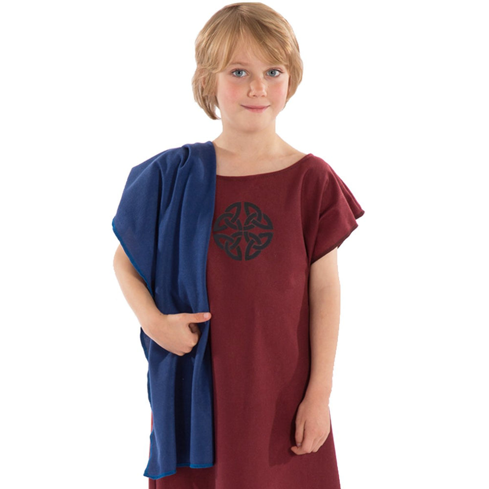 Image of Red Anglo Saxon costume for kids | Charlie Crow