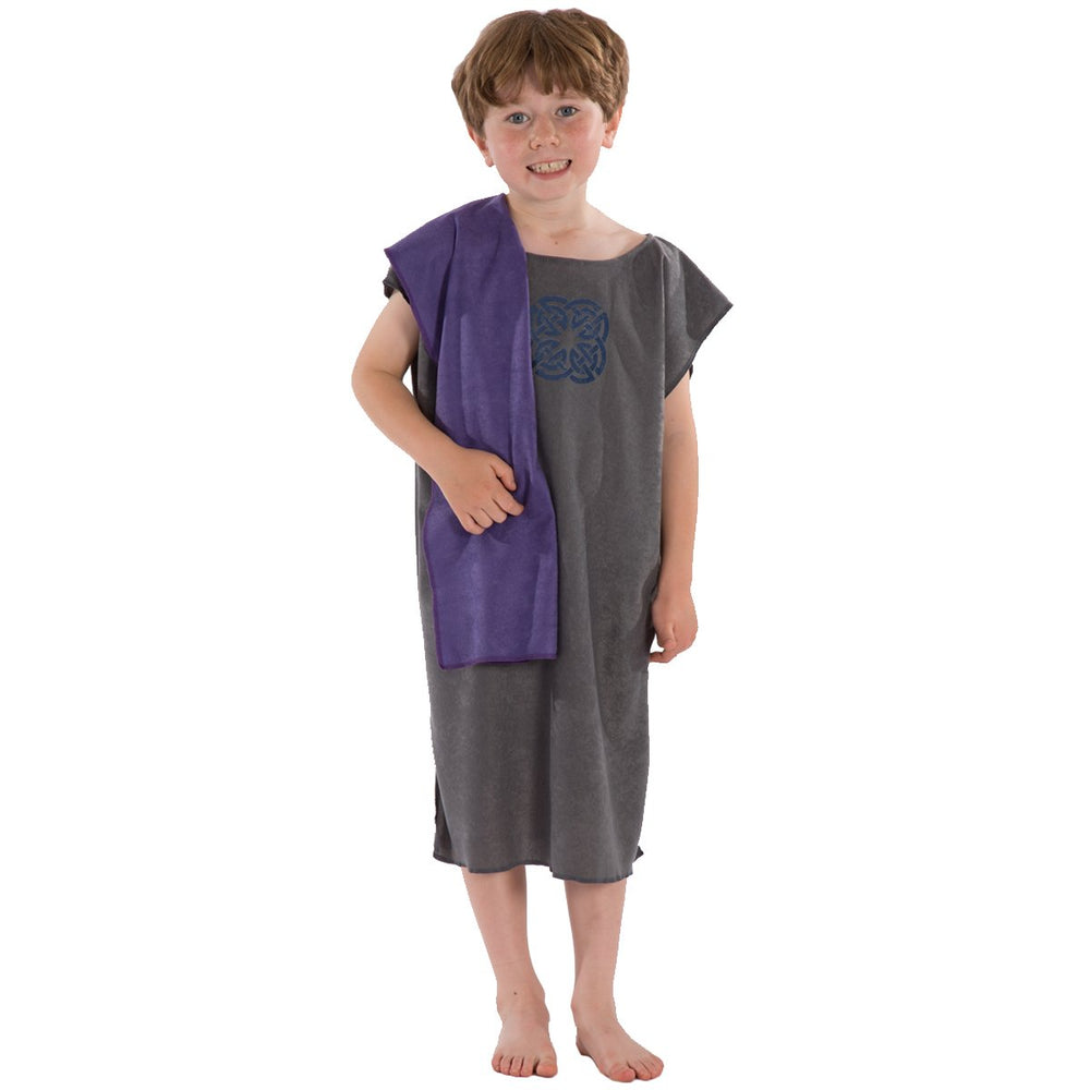 Image of Grey Ancient Briton costume for kids | Charlie Crow